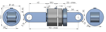 320-200 standaard cilinder (beperkte opties)
