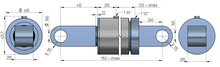 320-220 standaard cilinder (beperkte opties)